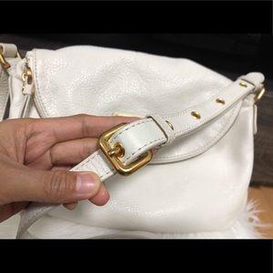 Marc Jacobs Bags - MARC JACOBS WHITE SHOULDER BAG EXCELLENT CONDITION